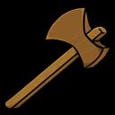 Axe, Wooden Icon