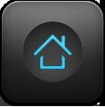 Blue, Home Icon
