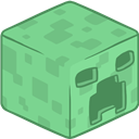 3d, Creeper, Minecraft Icon