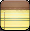 Alt, Notes Icon