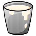Bucket, Milk Icon