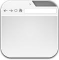 Alt, Browser, Empty Icon