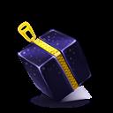 Cube, Zipper Icon