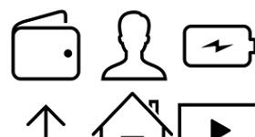 IOS 7 Vector Icons