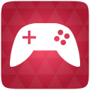 Gaming, Red Icon