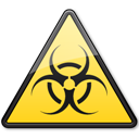 Biological, Hazard, Symbol, Triangle Icon
