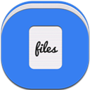 Alt, Files, Flat, Round Icon