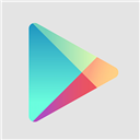 Flat, Google, Play Icon