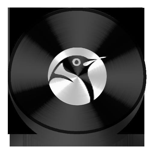 Black, Drive, Linux Icon