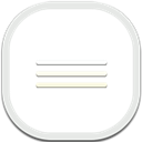 Appdrawer, Flat, Round Icon