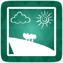 Gallery, Green Icon
