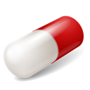 Capsule, Red Icon