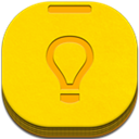 Flat, Keep, Round Icon
