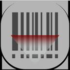 Barcode, Flat, Round, Scanner Icon
