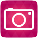 Camera, Red Icon