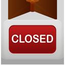 Closed, Shop Icon