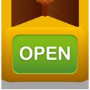 Open, Shop Icon