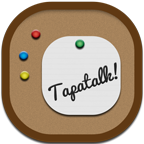 Flat, Round, Tapatalk Icon