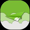 Airdroid, Flat, Round Icon