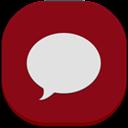 Flat, Round, Sms Icon