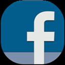 Facebook, Flat, Round Icon