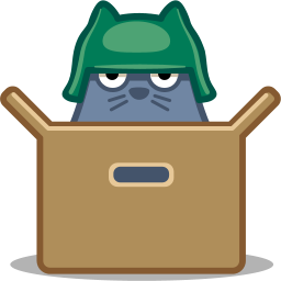 Box Cat Icon Download Free Icons