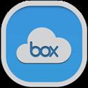 Box, Flat, Round Icon