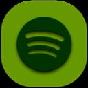Flat, Round, Spotify Icon