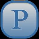 Flat, Pandora, Round Icon