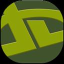 Deviantart, Flat, Round Icon