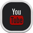 Flat, Round, Youtube Icon