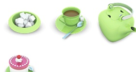 Tea Party Icons