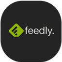 Feedly, Flat, Mobile Icon