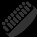 Brush, Shoe Icon
