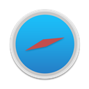Round, Safari Icon