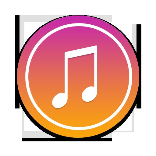 Music, Round Icon