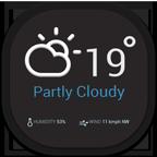 Eye, Flat, Mobile, Weather Icon