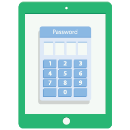 Password Tablet Icon Download Free Icons
