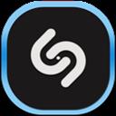 Flat, Mobile, Shazam Icon