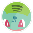 Bulbasaur, Spotify Icon
