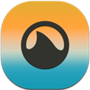 Flat, Grooveshark, Mobile Icon