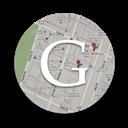 Maps, Round Icon