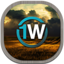 1weather, Flat, Mobile Icon