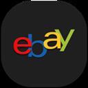 Ebay, Flat, Mobile Icon