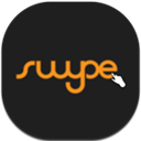Flat, Mobile, Swype Icon