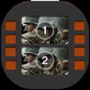 Flat, Mobile, Movie, Studio Icon