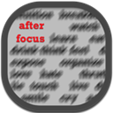 After, Flat, Focus, Mobile Icon
