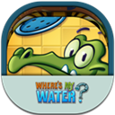 Flat, Mobile, Wheresmywater Icon