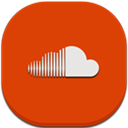 Flat, Mobile, Soundcloud Icon