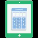 Password, Tablet Icon
